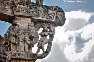 Sanchi Stupa  (4)   by travelling slacker