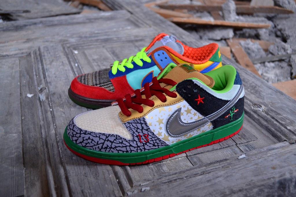 best website 75b73 d63e4 ... Nike SB What The Dunk   by Sneaker Freak