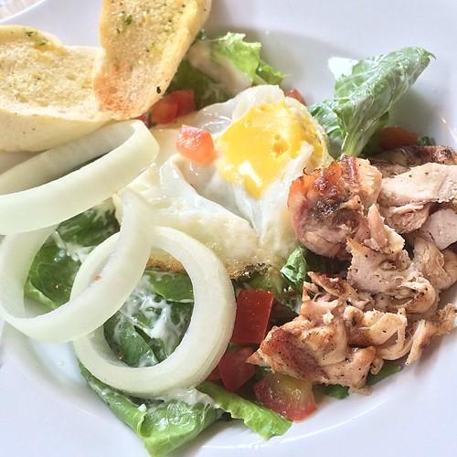 Nanny's Chicken Salad #nannyspavillon @beachwalk_bali #pic