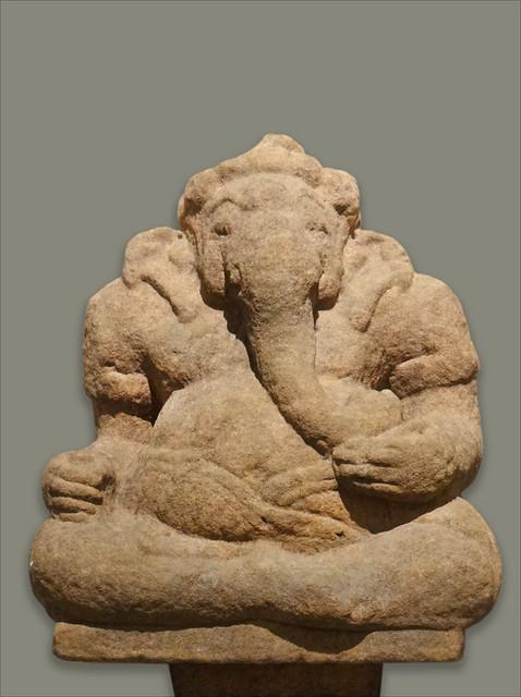 Ganesh, art cham (musée Guimet)
