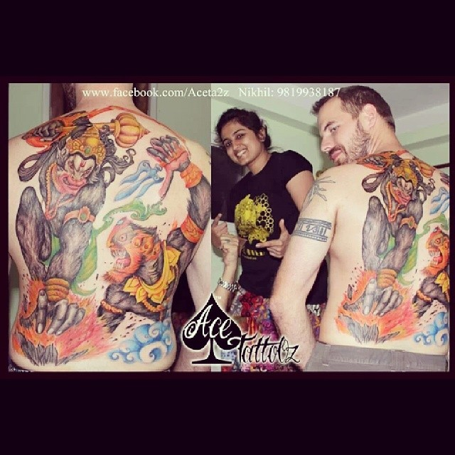 hanuman #tattoo #fullbacktattoo #lordhanuman #pavanputra … | Flickr