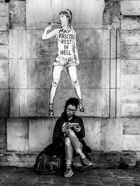 Street - Two girls