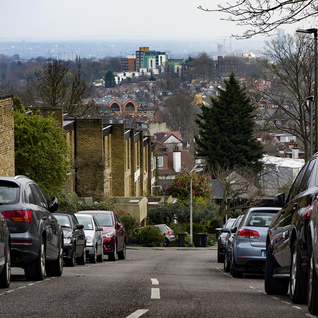 View from Highgate Village