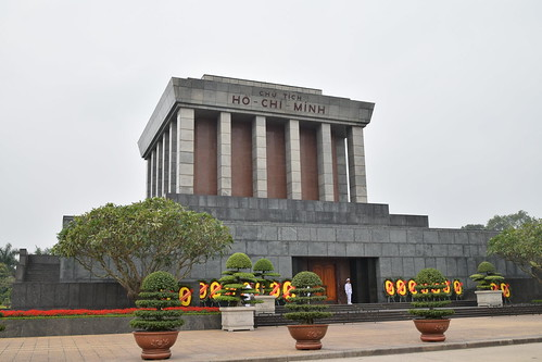 Ho Chi Minh's mausoleum, Hanoi, Vietnam | by Paul Mannix