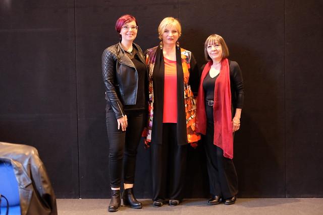Daniela Piazza, Giulia Ciarapica e Valeria Montaldi