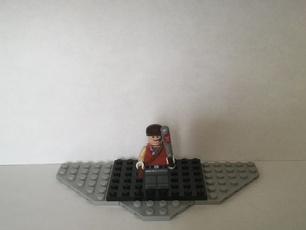 Lego Custom Red Scout Team Fortress 2 Bonk Grass Grows Flickr