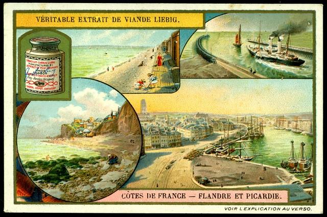 Liebig S953 The French Coastline ~ Flanders & Picardy