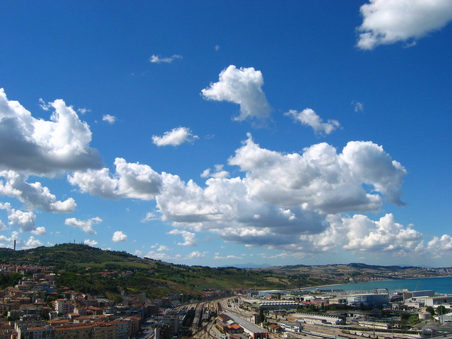 Ancona, Marche, Italy - Clouds 1 -by Gianni Del Bufalo CC BY 4.0