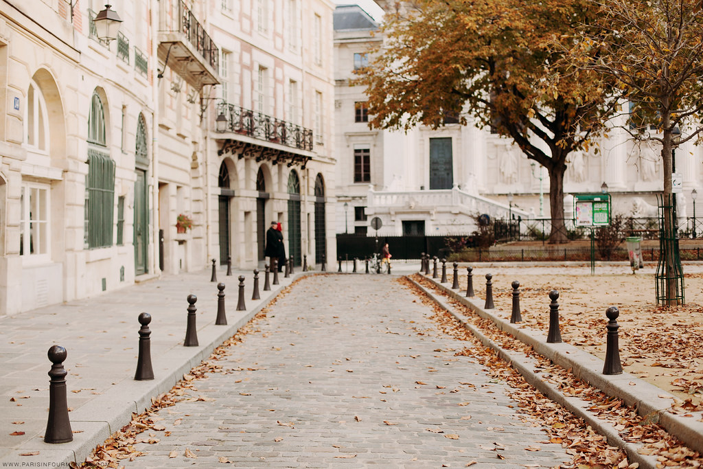 Place Dauphine In The Fall Paris France 2013 Www Parisinf Flickr