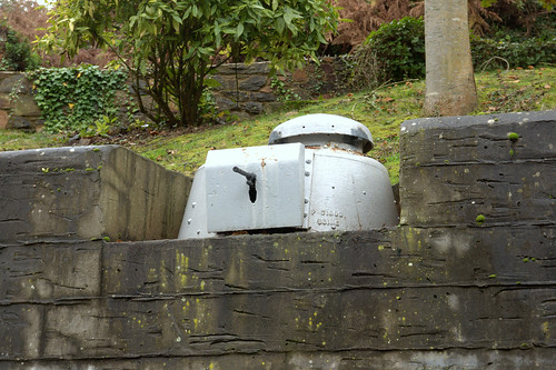 WW2 armoured machinegun Jersey