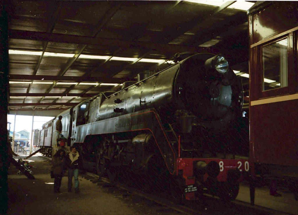 4-6-2 Passenger C-38 class 3820 | The 38 Class locomotives w