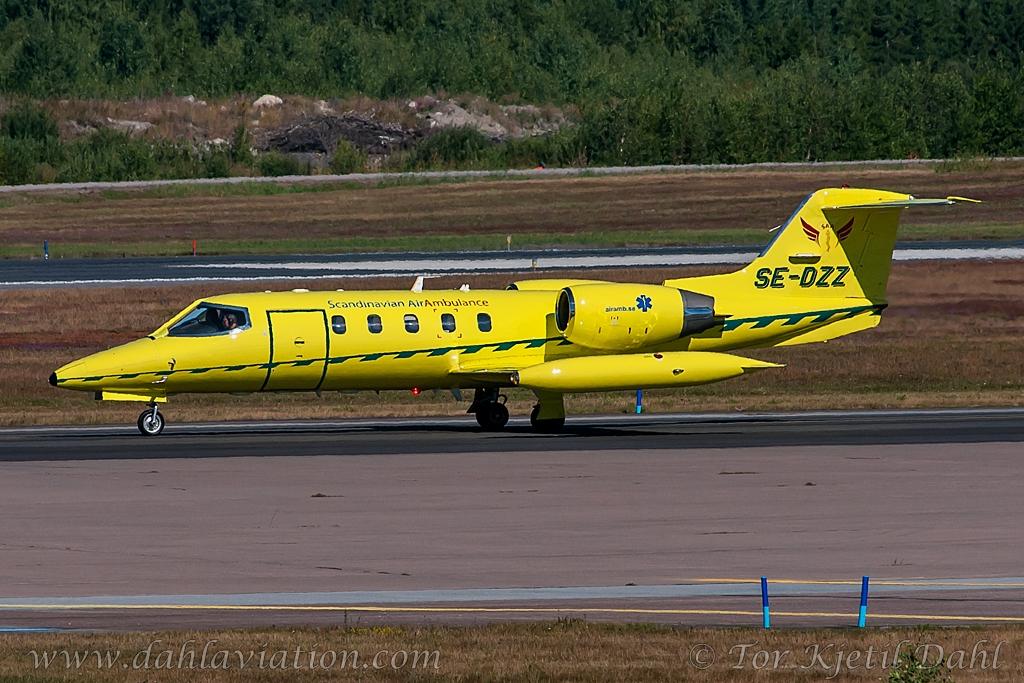 Se Dzz Scandinavian Air Ambulance Gates Learjet 35a Flickr