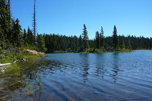 Battleship Lake, Strathcona Provincial Park, Central Vancouver Island, British Columbia, Canada