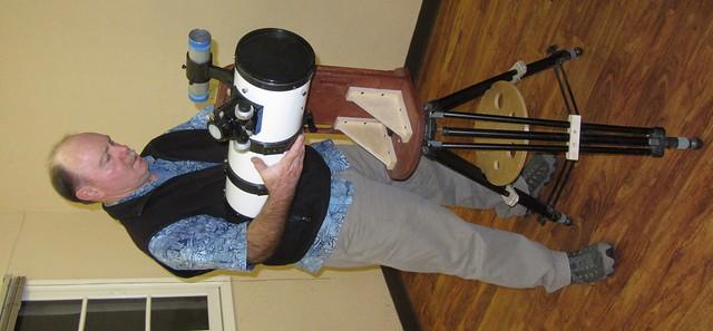 IMG_7679 SBAU JoeD w custom telescope mount
