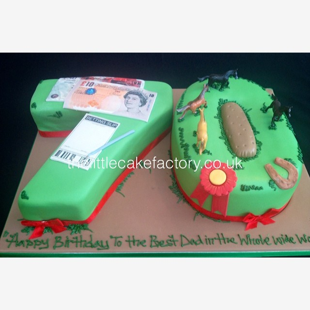 Astounding 70Th Birthday Racing Cake 70Th Betting Gallop Horse G Flickr Funny Birthday Cards Online Unhofree Goldxyz