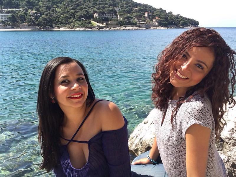 Sirey y Eli en Lapad, Croacia