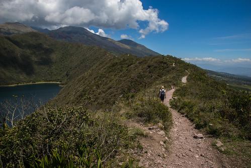 ecuador otavalo lagunadecuicocha cotacachi volcano vulkan