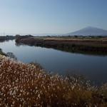 2016/11/14_岩木川と岩木山(没カット)
