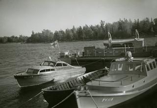 NV 169 ja PV 119 Mikkelinsaarten laiturissa