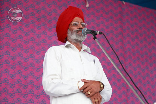 Naranjan Singh from Sant Nirankari Colony, Delhi, expresses his views