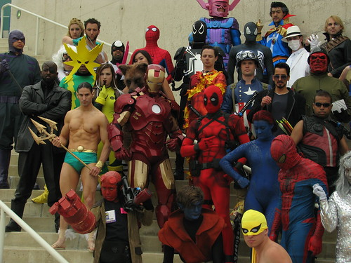 SDCC13 - Marvel Group Photo [I] | by W10002
