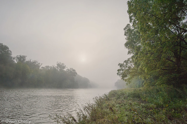 Misty Morning on the Grand