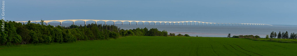 Le pont de la confédération IPE / Confereration Bridge PEI!