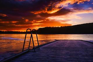 Frozen lake two   by kristiansekse