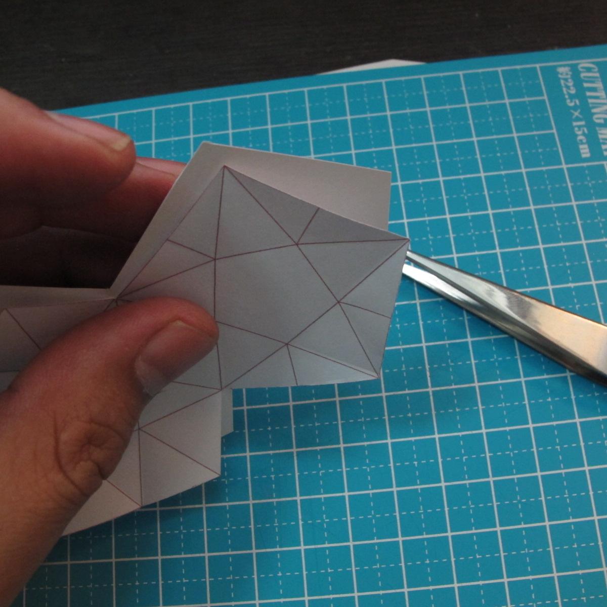 โมเดลกระดาษรูปดาว 003