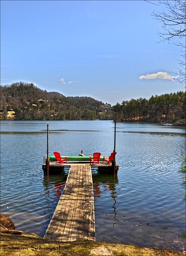 lake mountains water landscape dock northcarolina glenville nikond5000 thorperesevoir