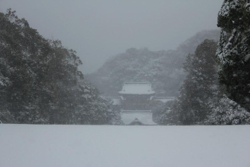 雪の鎌倉_14