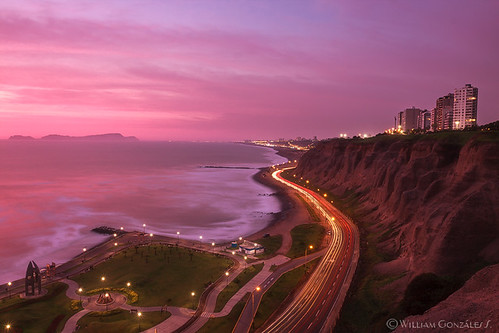 longexposure light sunset peru canon landscape lima trails paisaje pacificocean miraflores costaverde ef1635mmf28liiusm lee09proglassnd
