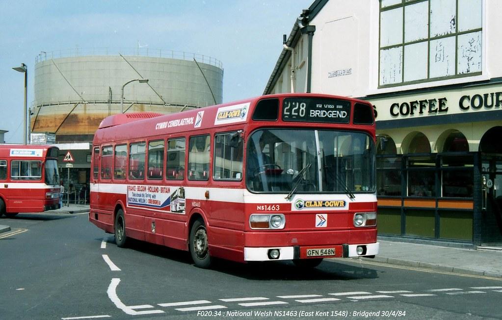 National Welsh NS1463 840430 Bridgend*