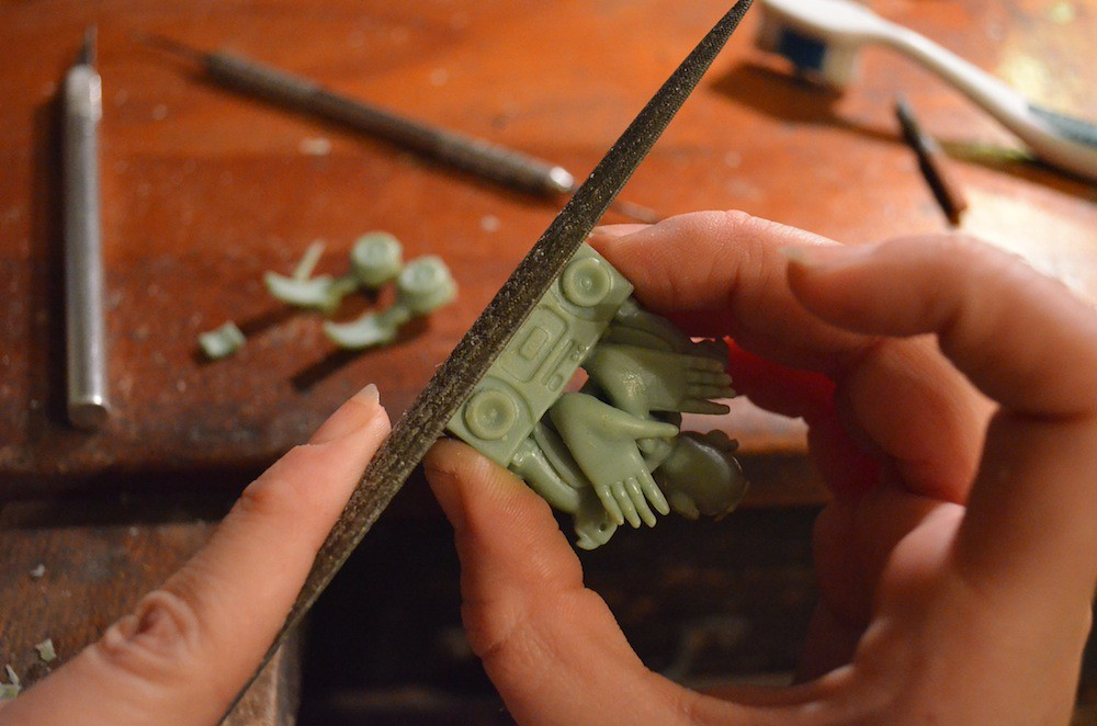 Rebecca Rose Sculpture Rings Birdman 5Star Art Jewelry Sculpturings Soaring 9