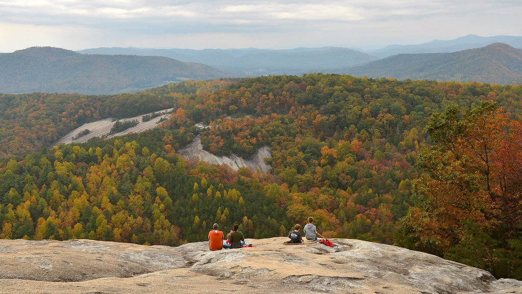 Fall At Stone Mountain State Park Roaring Gap Nc View Fro Flickr