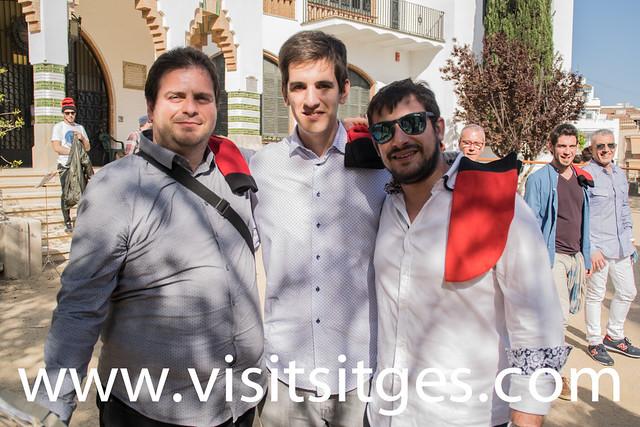 Caramelles a l'Hospital de Sitges, Pasqua 2017