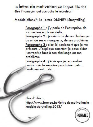 La Lettre De Motivation Disney Etre L Accroche Realiz