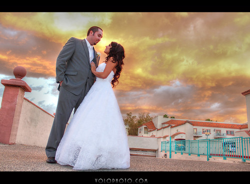 california wedding sunset woman man color clouds photography photo formal marriage southern redlands newlyweds