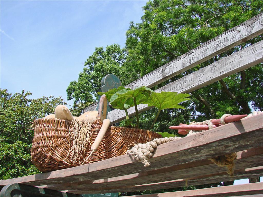 Le jardin des plantes (Le Voyage, Nantes)   Le banc géant (d ...