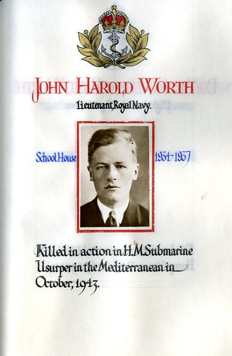 Worth, John Harold (1920-1943) | by sherborneschoolarchives
