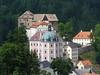 hrad a zámek Bečov nad Teplou, výhled cestou na Šibeniční vrch, foto: Petr Nejedlý