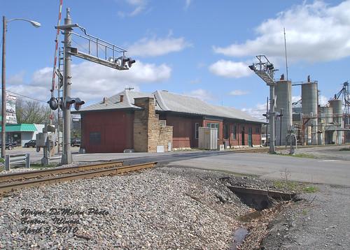 station depot illinoiscentral bentonil franklincountyil
