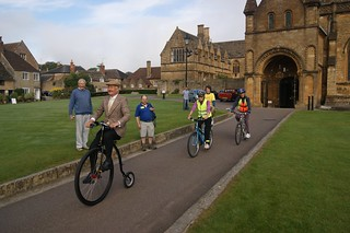 The leader of the pack, sherborne abbey 2013 | by The National Churches Trust