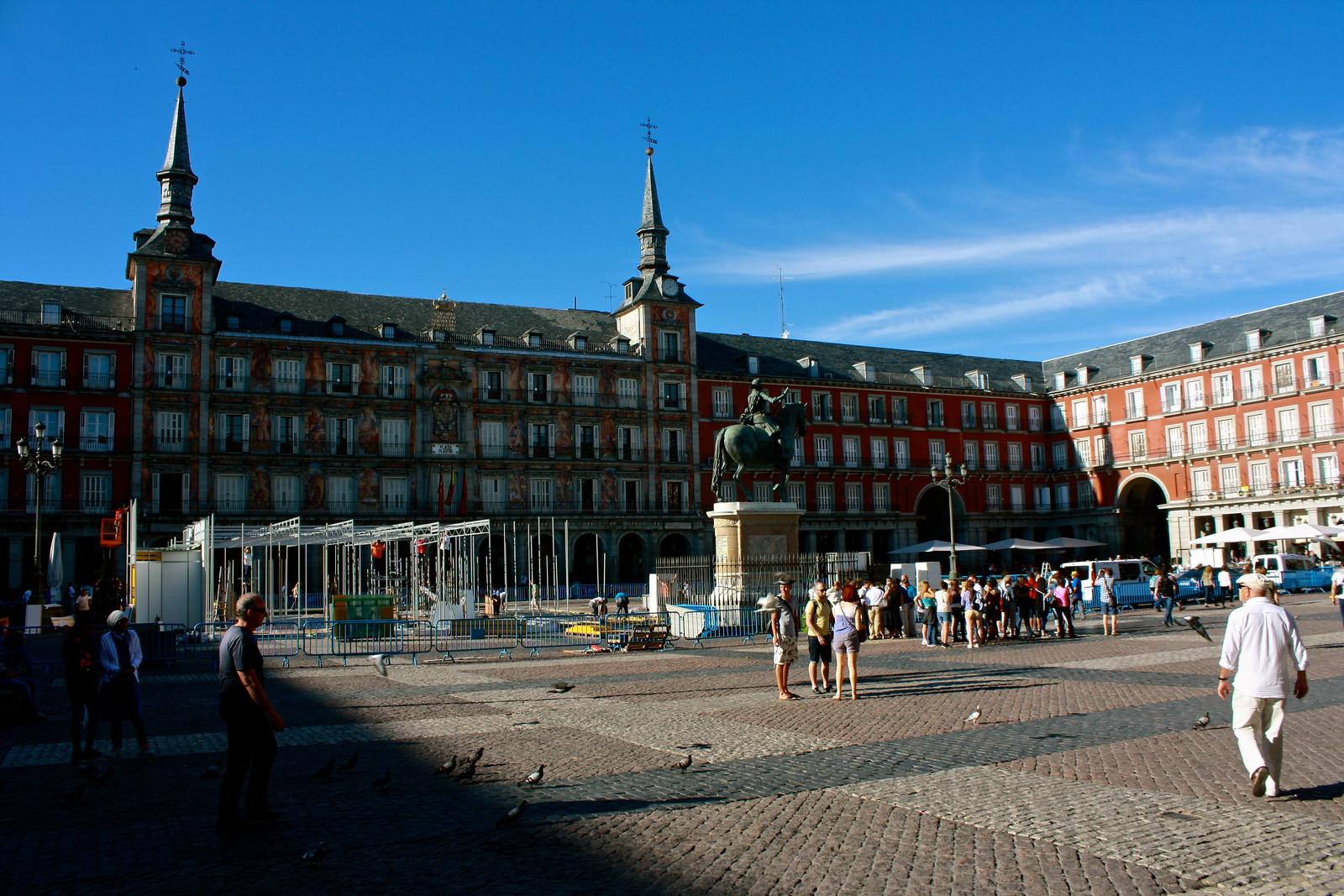 Plaza Mayor, Madrid, Spain