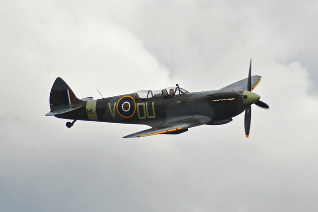 Spitfire at The Victory Show 2013