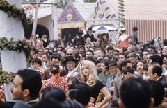 Brigitte Bardot en la feria de abril