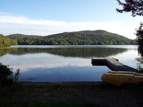 summer lake holiday canada nature water montagne eau quebec lac été paysage vacance lamacaza touristique végétation lacclair