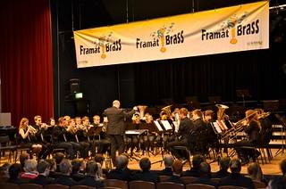 Lilla Brassbandfestivalen 2013 - Jan Winborg leder Junior-SYBB i Gislaveds konsertsal