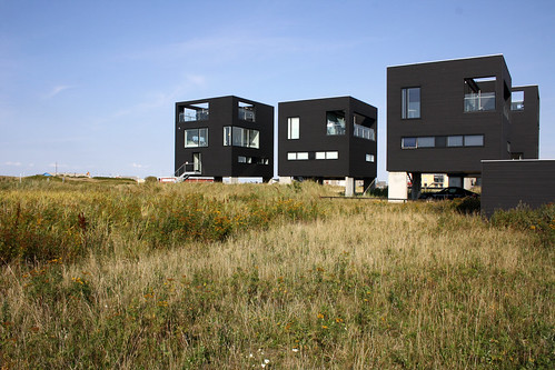 Floating cube houses Havneby Rømø island Denmark | by bcmng