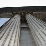 NY Public Library pillars